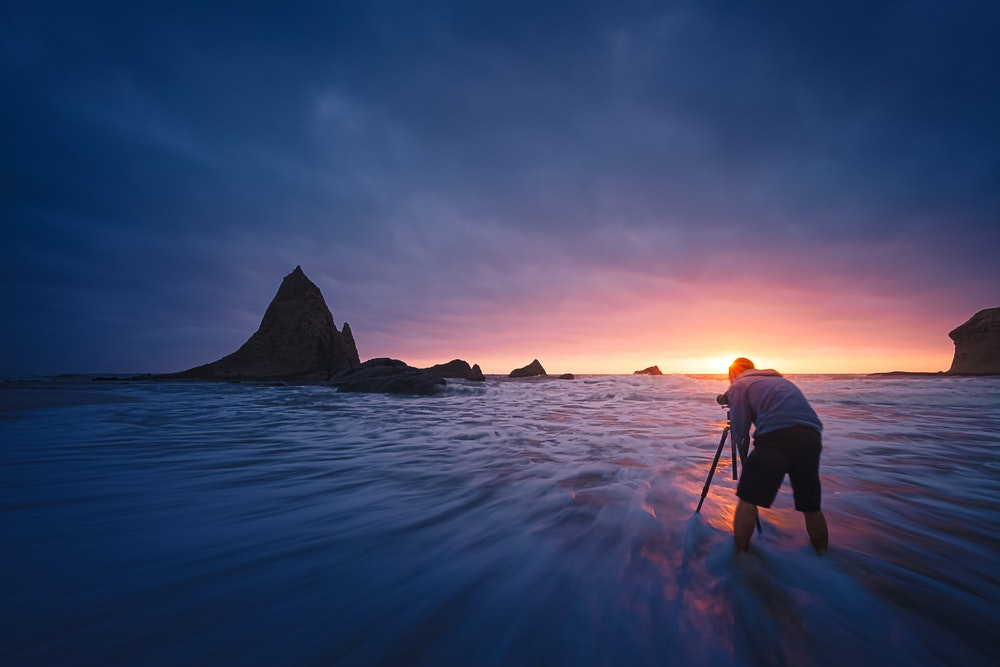 Landscape photographer and Meteorologist, Jeff Lewis