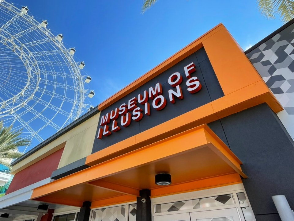 Museum of Illusions Orlando Opens at ICON Park on International Drive