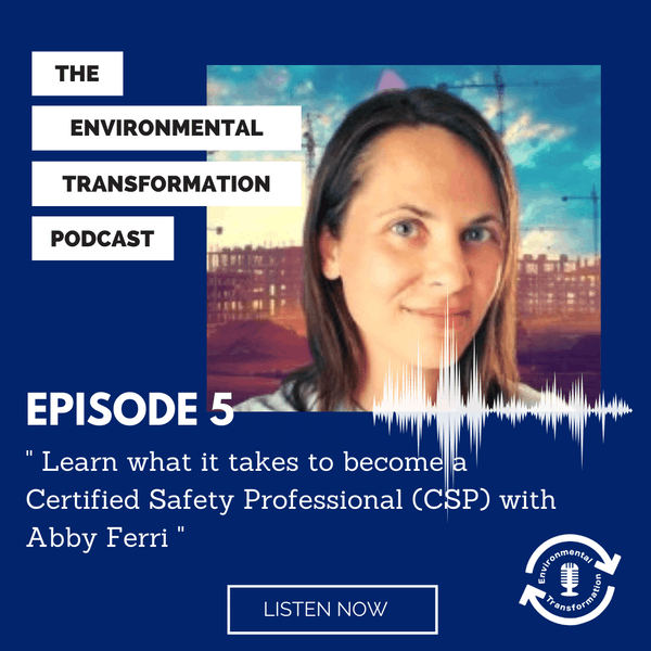 Learn what it takes to become a Certified Safety Professional (CSP) with Abby Ferri. Image