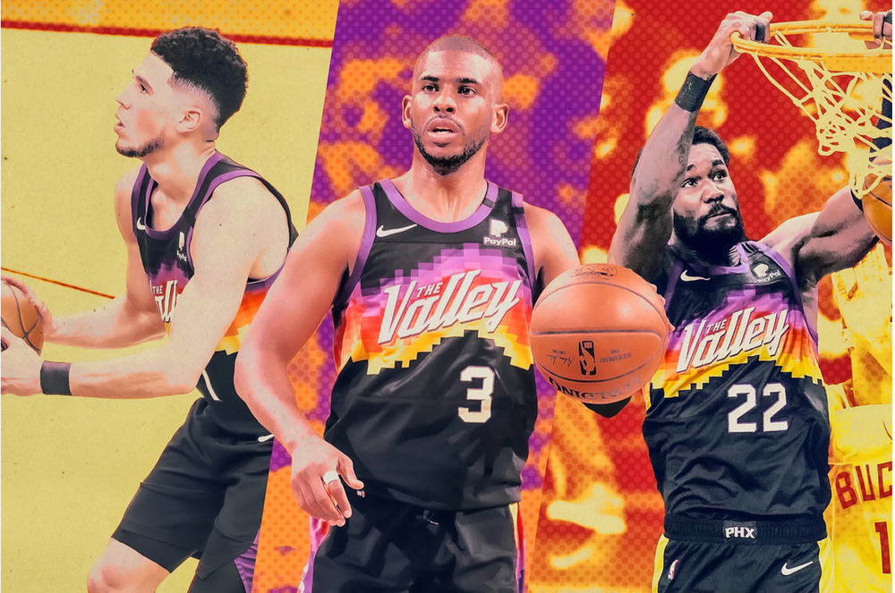 Game 1 of the 2021 NBA Finals :  Suns Over Bucks