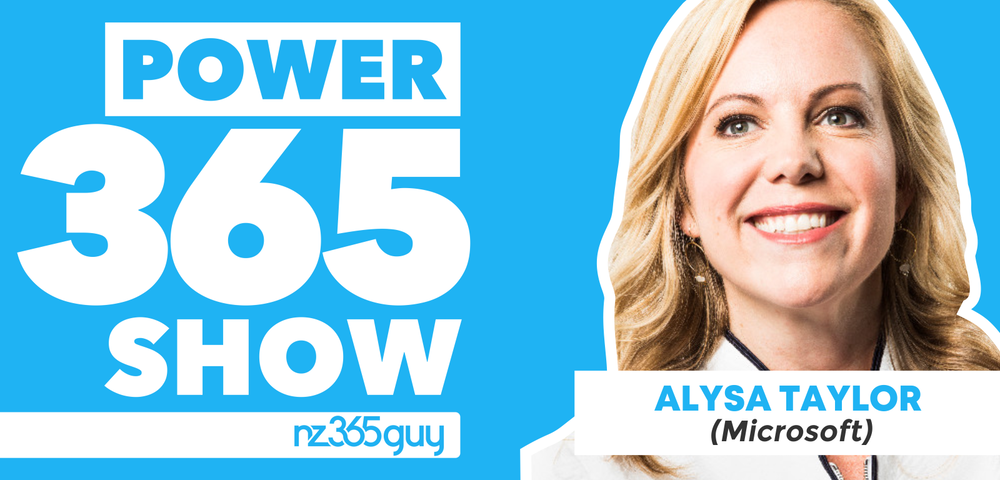 Microsoft Business Applications Direction with Alysa Taylor