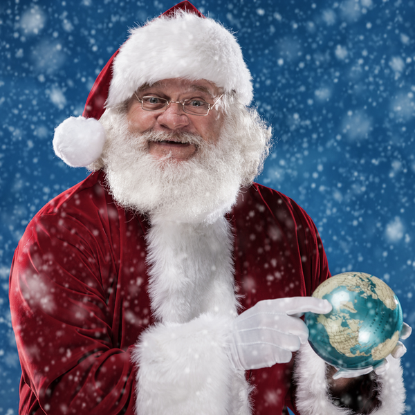 Here Comes Santa Claus Image