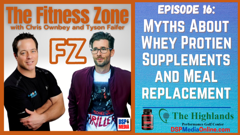 Episode image for Ep16: Myths About Whey Protein Supplements And Meal Replacement
