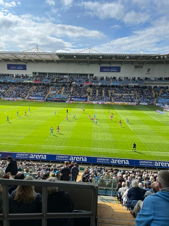 Total Cov Blog #2 - Coventry City 2-1 Nottingham Forest, 08.08.2021.