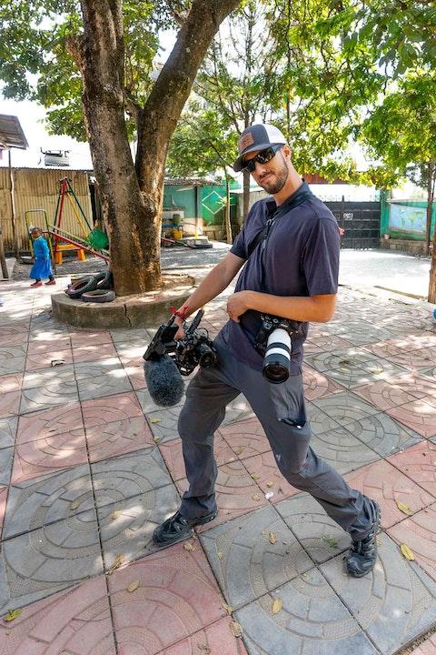 Filmmaker and photographer Simon Eisenbach