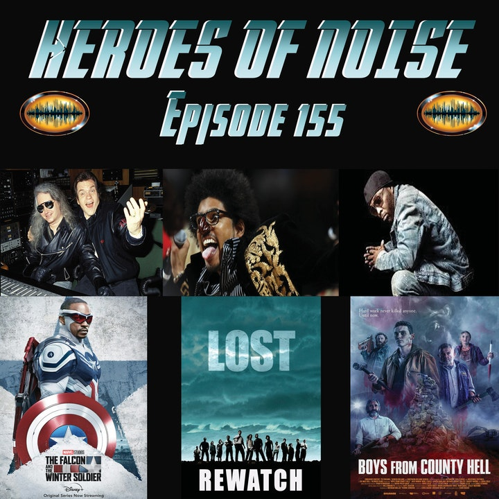 Episode 155 - R.I.P. Shock G, Black Rob, and Jim Steinman, The Falcon and The Winter Soldier finale, For All Mankind S2 Finale, Lost rewatch, and The Boys From County Hell
