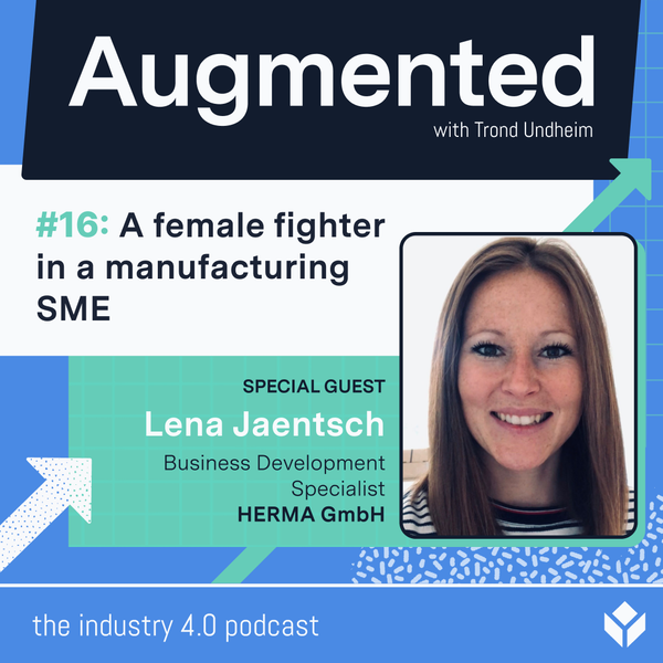 A female fighter in a manufacturing SME Image