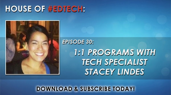 1:1 Programs with Tech Specialist Stacey Lindes - HoET030 Image