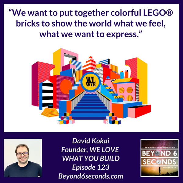 Episode 123: A neurodiverse workplace in the LEGO world -- with David Kokai and Lili Juhász from WE LOVE WHAT YOU BUILD (WLWYB) Image