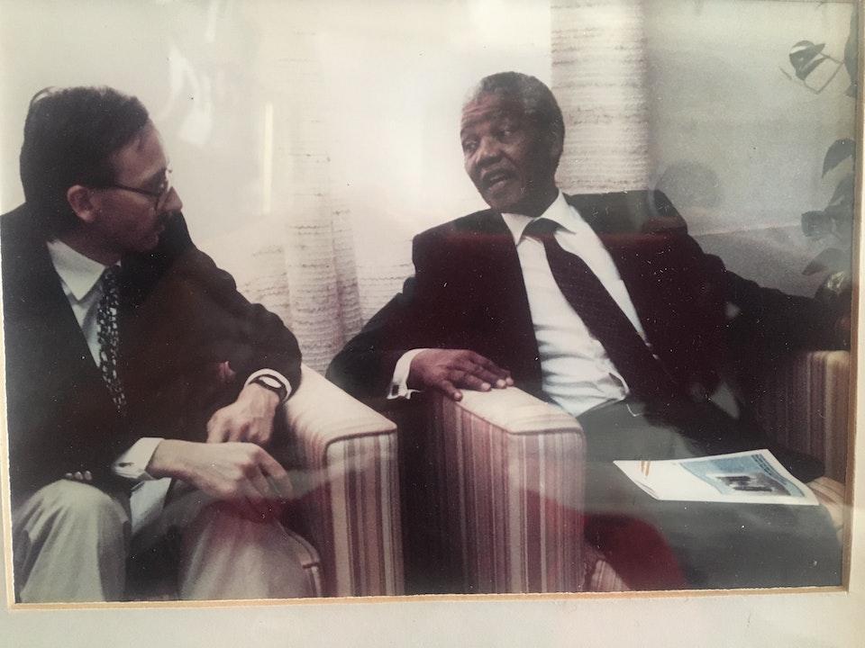 Ted Smyth: A Mandela Moment