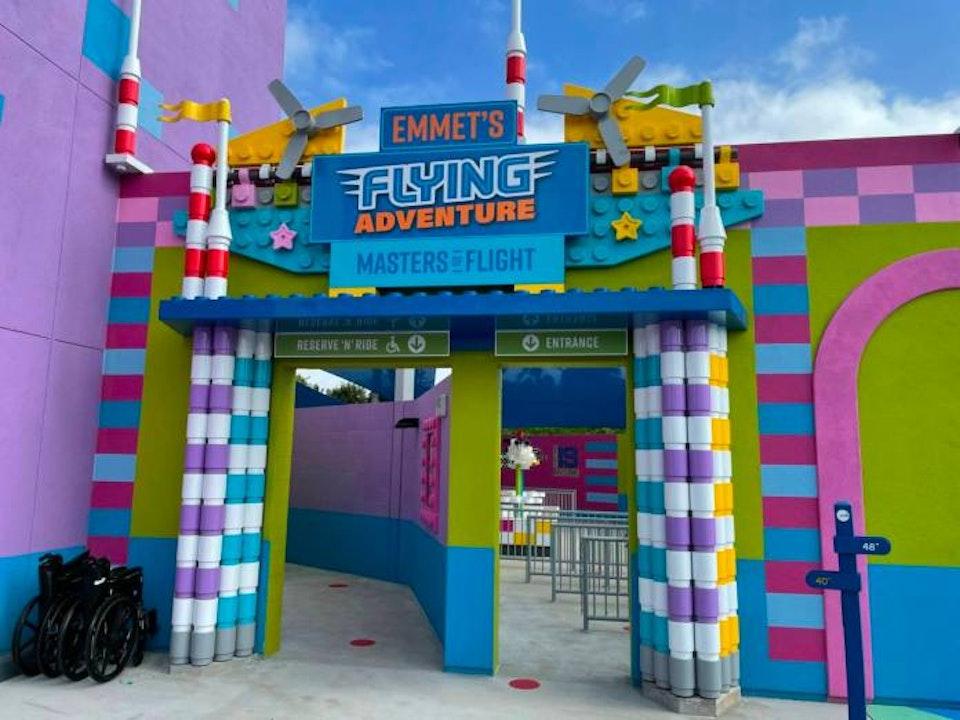 Legoland Ca.'s Brand New Ride