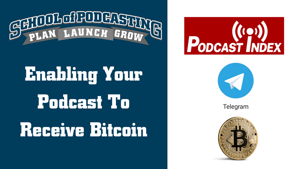 How To Enable Your Podcast To Receive Crypto