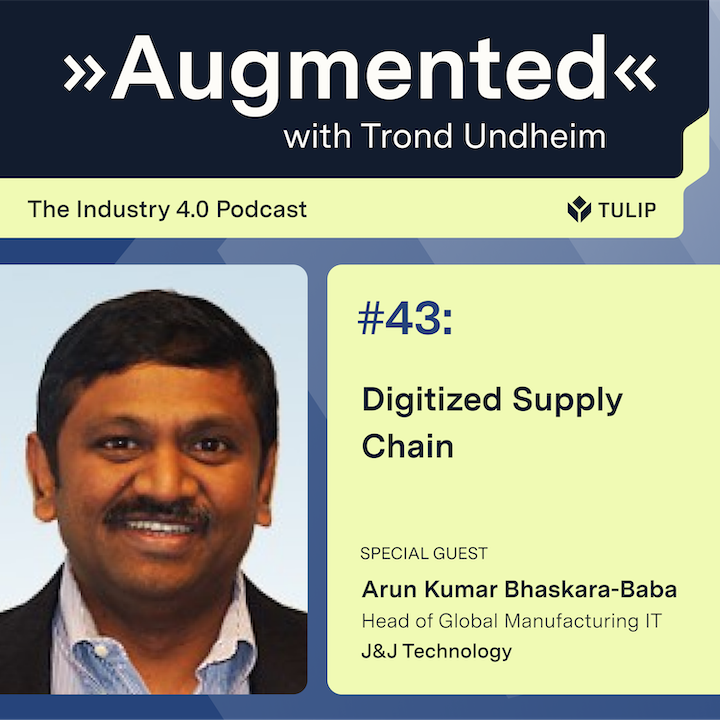 Episode image for Digitized Supply Chain
