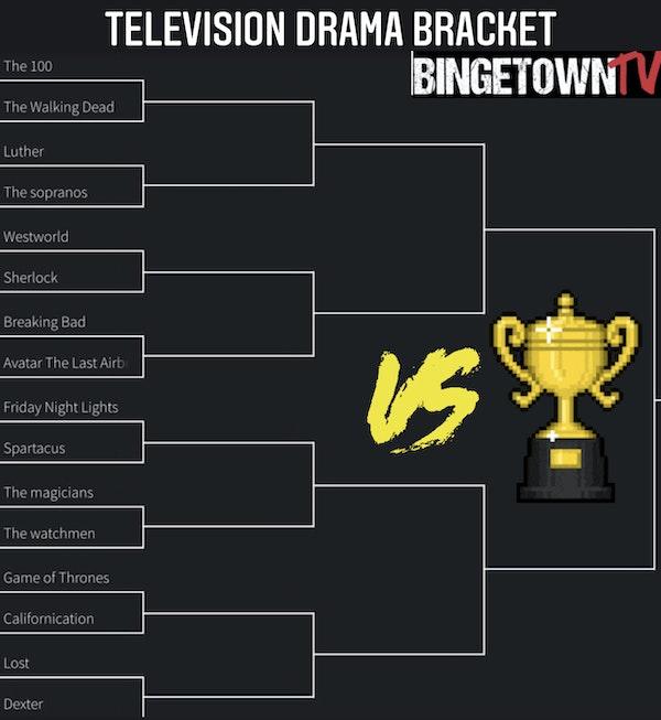 E74 BingetownTV Television Dramas Tournament! Image