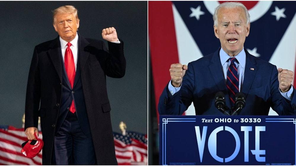 Trump y Biden mantienen diferencias mínimas en los estados decisivos
