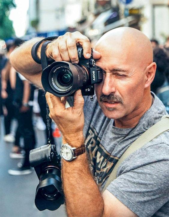 Fashion photographer and Sony Artisan Nino Rakichevich