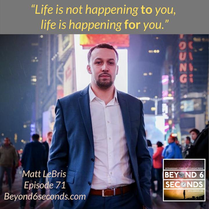 Episode 71: Matt LeBris – Legacy over currency