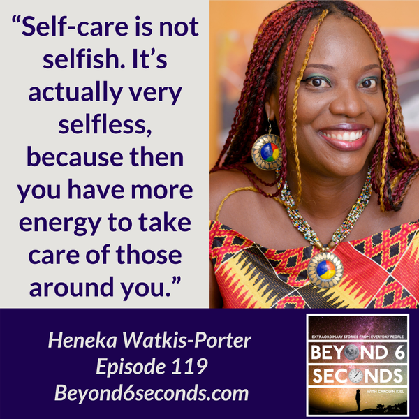 Episode 119: Becoming a leader worth following – with Heneka Watkis-Porter Image