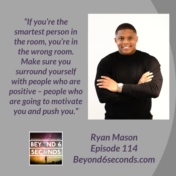 Episode 114: Losing your passion and making new dreams come true -- with Ryan Mason Image