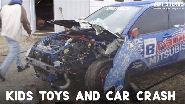 A dying child. A race car crash Get ready for goose bumps. Image