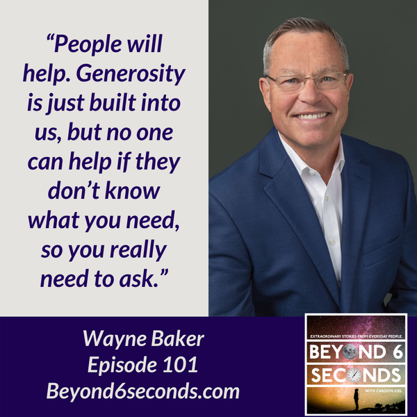 Episode 101: Wayne Baker -- All You Have To Do Is Ask Image