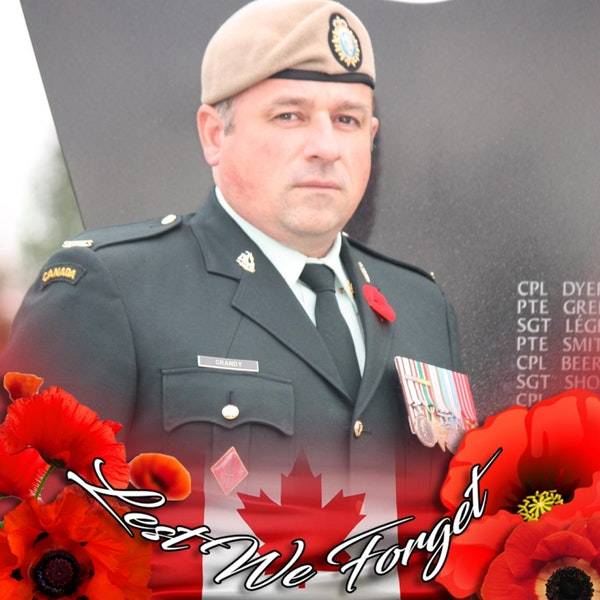Episode #14 - Interview with  Sergeant Major (Retired) William Grandy