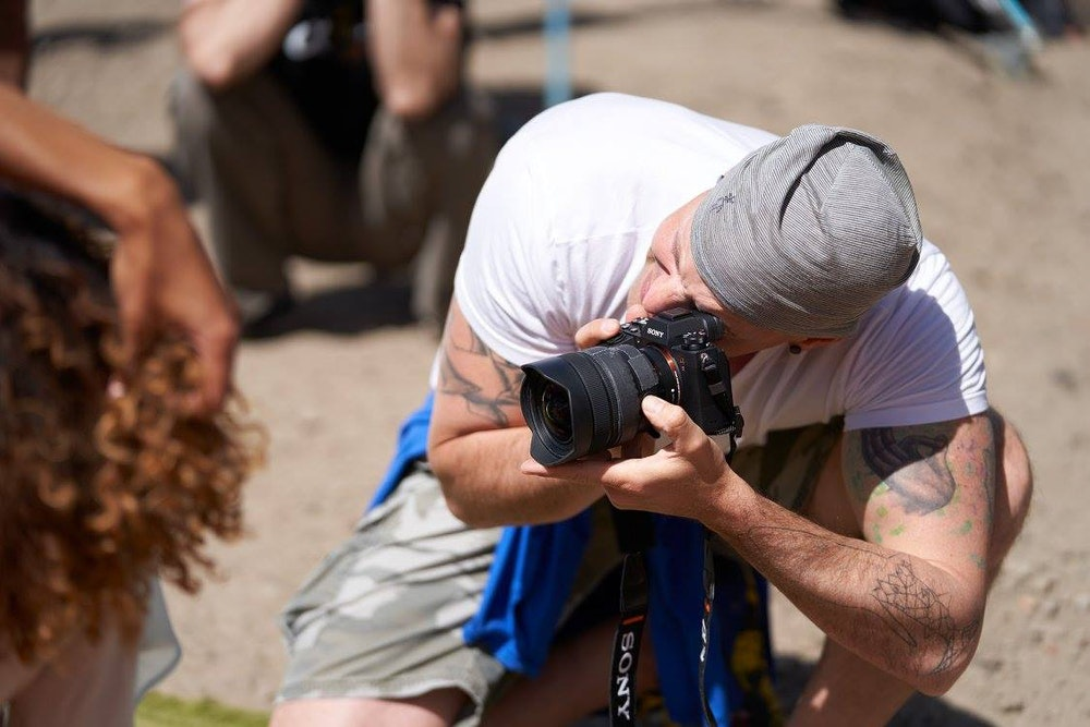 Photographer, filmmaker and Sony Artisan of Imagery Ben Lowy