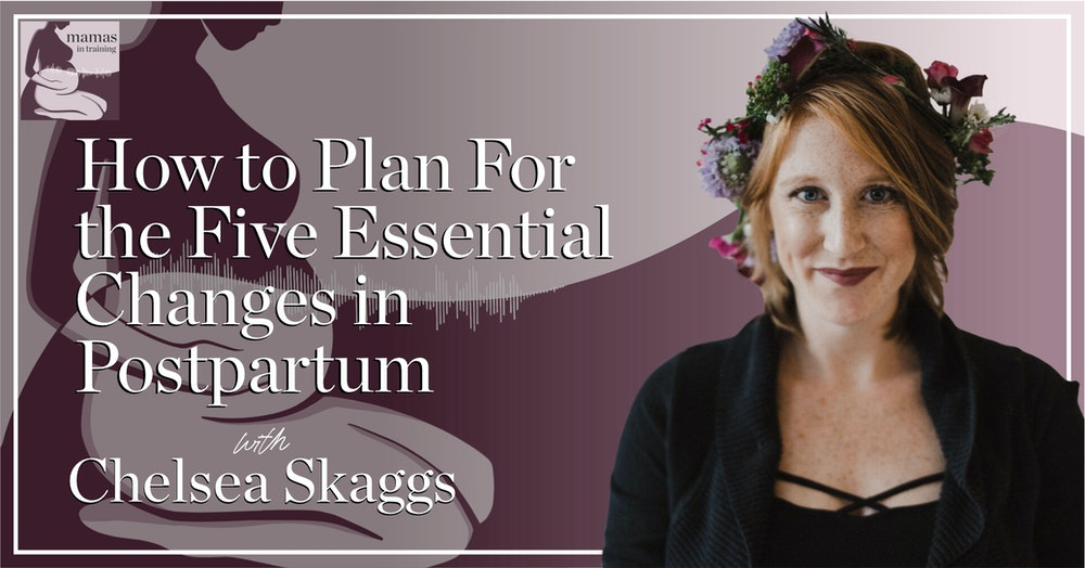 EP65- How to Plan For the Five Essential Changes in Postpartum with Chelsea Skaggs