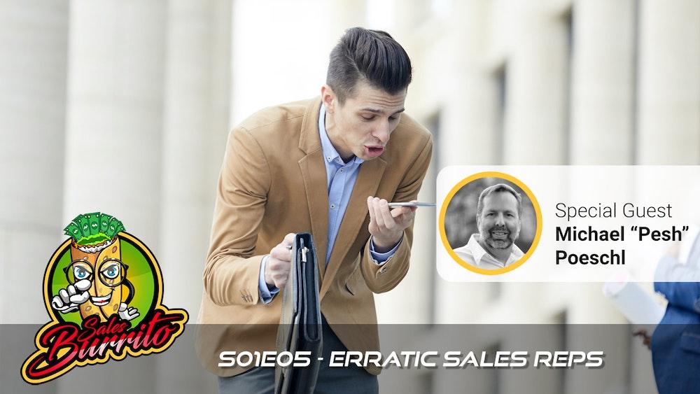 105 - Erratic Sales Reps