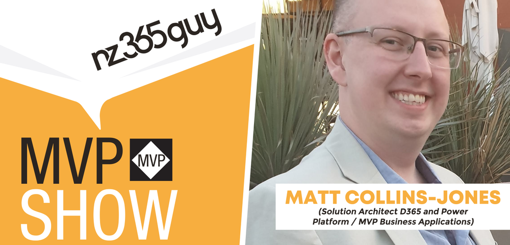 Matt Collins-Jones on The MVP Show