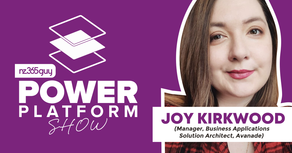 Building for Offline in Canvas Power Apps with Joy Kirkwood