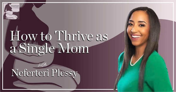 EP67- How to Thrive as a Single Mom with Neferteri Plessy Image