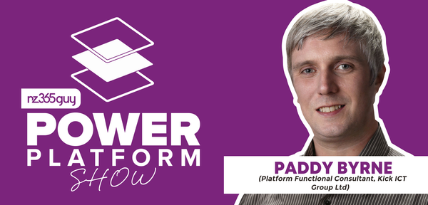 Power Platform Functional Consultant with Paddy Byrne