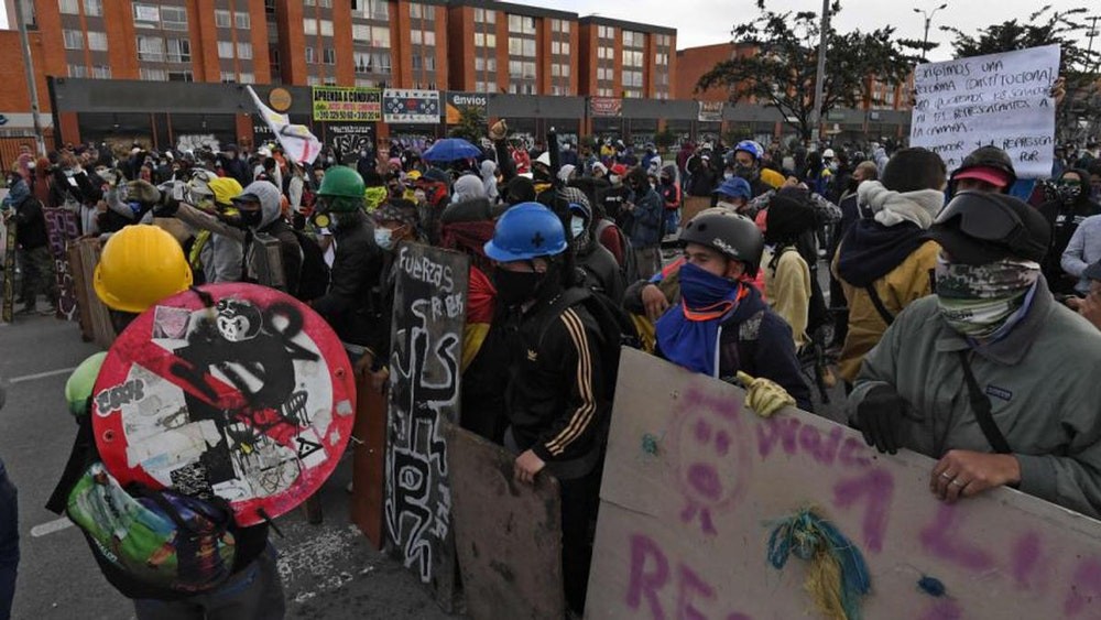Convocan más protestas en Colombia tras fracaso de reunión con Comité de Paro