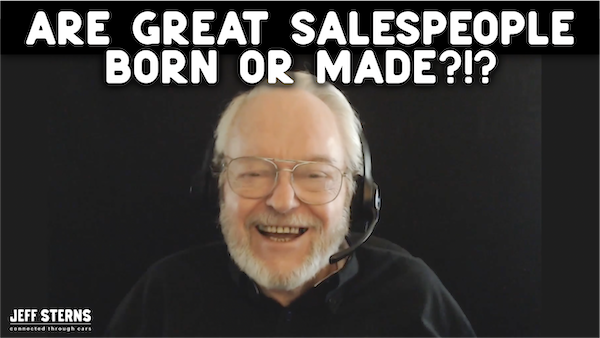 Ben Gay lll and Jeff discuss salespeople developed vs raw talent Image