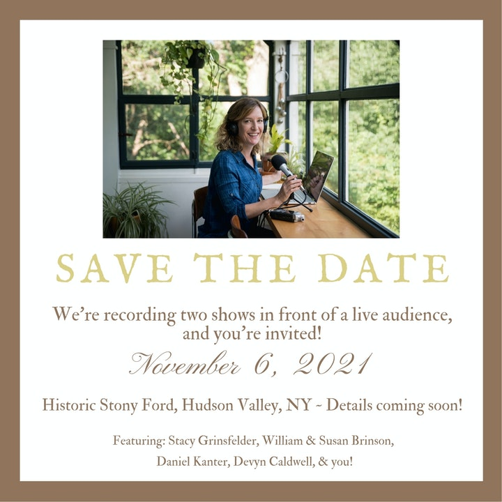 True Tales From Old Houses is headed to the Hudson Valley!