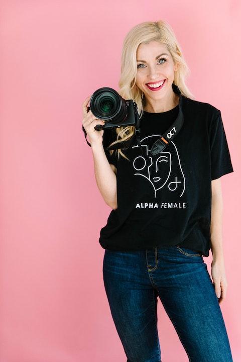 All around creative, Sony Alpha Female Plus Grant Winner Tenley Clark Image