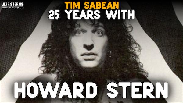 Howard Stern and TIM SABEAN Image