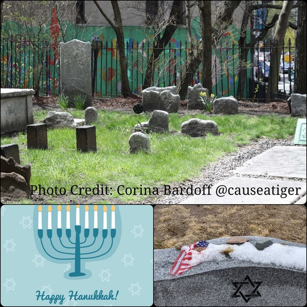 Episode 10 - Hanukkah and the American Revolution - Chatham Square Jewish Cemetery in New York City Image