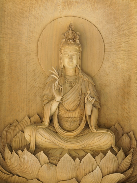 Who is Kuan Yin the bodhisattva of compassion.