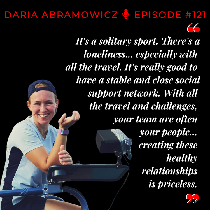 Episode 121: Daria Abramowicz - Person first, player second