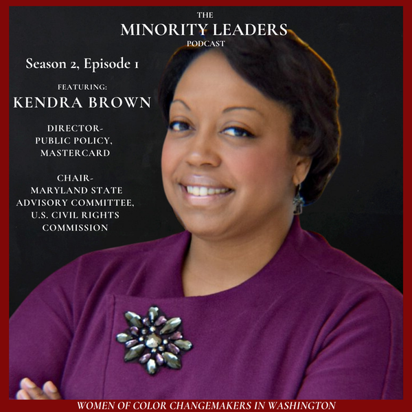 A Conversation with Kendra Brown, Director of Public Policy, Mastercard