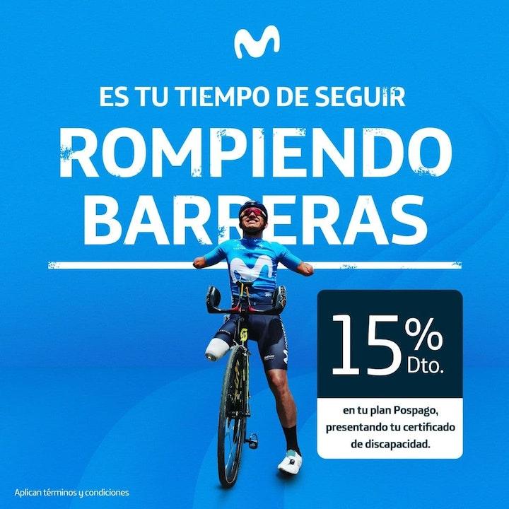 """Llega """"Movistar sin barreras"""", un beneficio exclusivo en planes móviles pospago para las personas con discapacidad en Colombia"""
