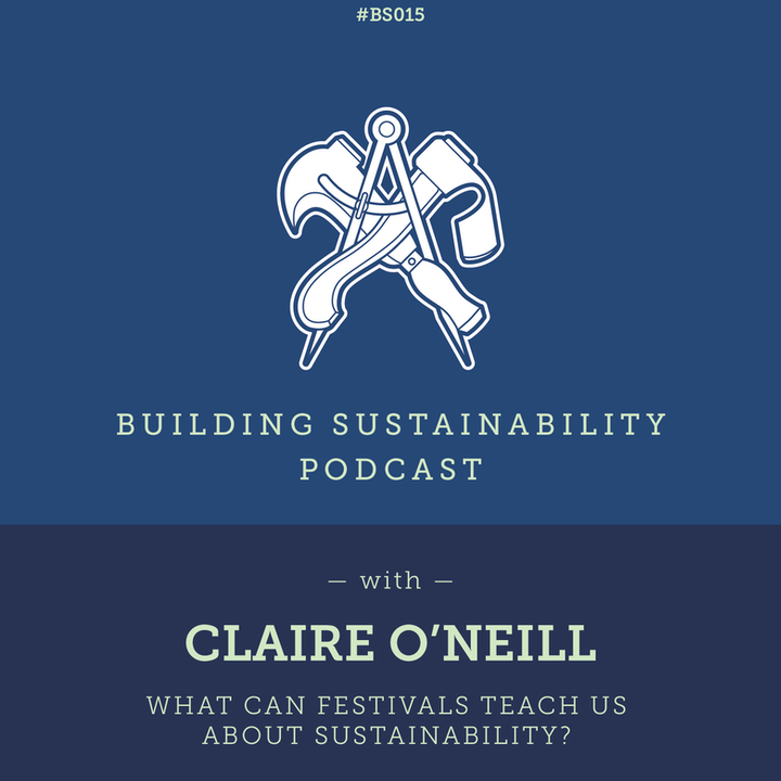 What can festivals teach us about sustainability? - Claire O'Neill