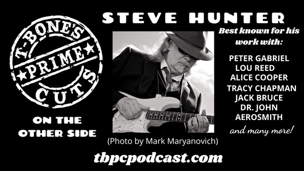 Episode #1 - Guitarist Steve Hunter Image