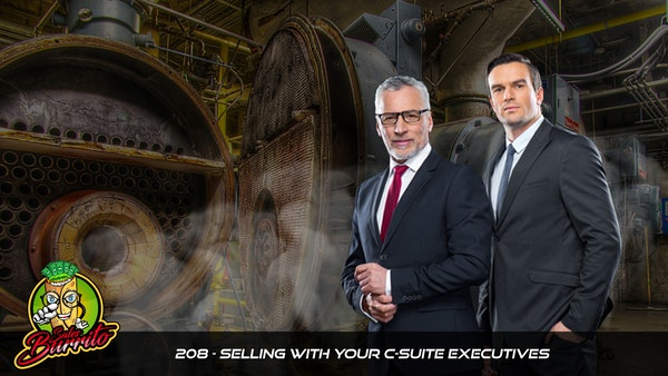 208 - Selling With Your C-Suite Executives
