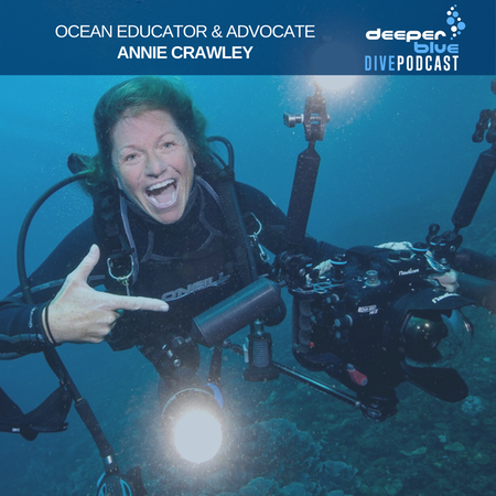 """Annie Crawley on the emotions of diving with the Humpbacks of Tonga, and the """"Mother of Sharks"""" on keeping it simple underwater Image"""