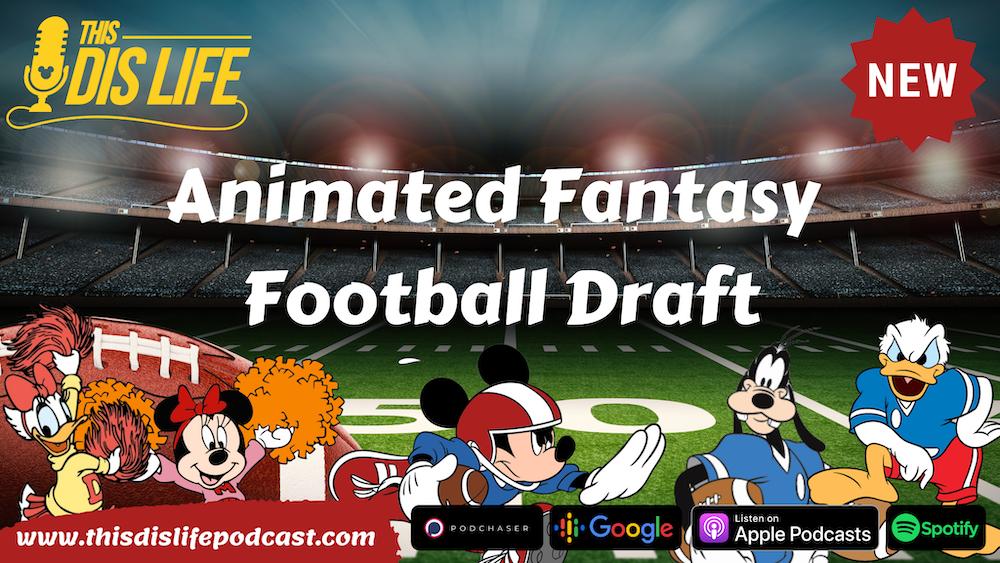 Disney Fantasy Football Draft with Bryan Lee