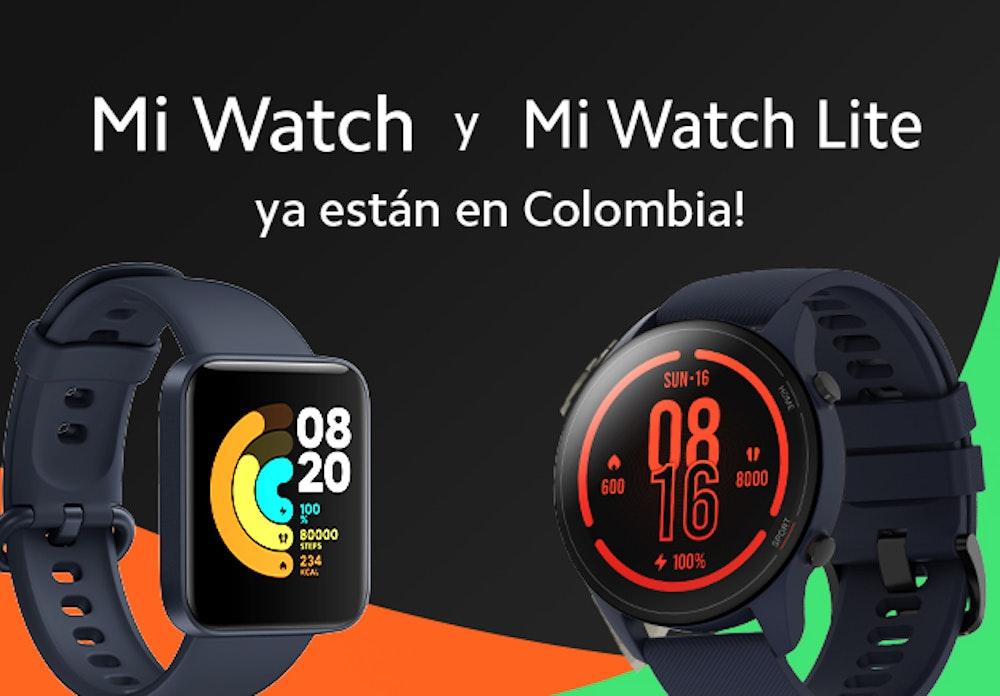 Xiaomi presenta en el país Mi Watch y Mi Watch Lite