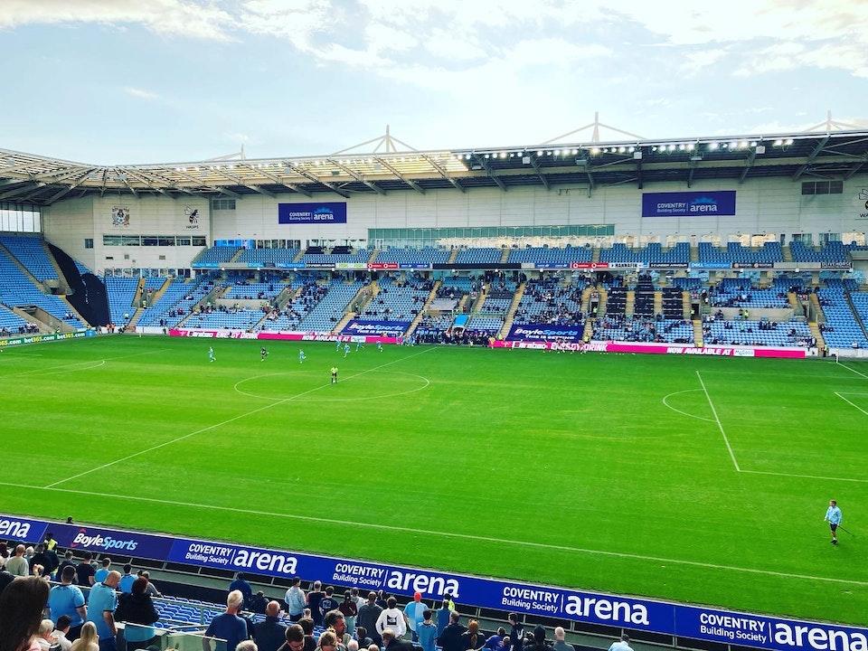 Total Cov Blog #3 - Coventry City 1-2 Northampton Town, 11.08.2021.